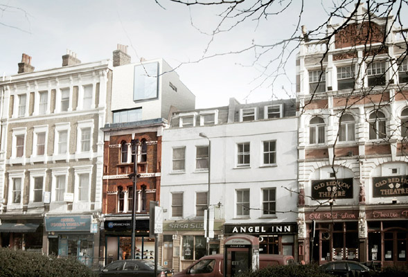 Peter Feeny Architects Apartments And Shop In Islington